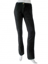 Clare Tough Leather pant with pockets