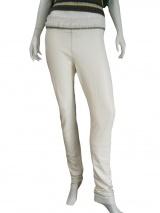 Clare Tough Pantalone pelle c/catene