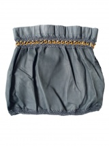 Clare Tough Short leather skirt
