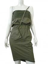 Alberto Incanuti Tartan dress