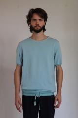 Alberto Incanuti T-shirt m/m con polsi in maglia