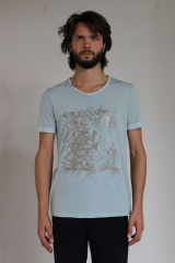 Alberto Incanuti T-shirt with sleeves in contrast