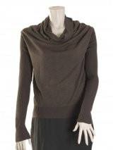 Angelos-Frentzos Jumper with ample collar
