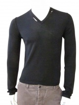 Nicolas & Mark Lugged Basic Sweater