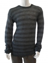 Nicolas & Mark Roundnecked striped pullover