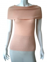 Once More Sleeveless pullover Jaquard
