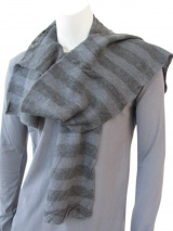 Nicolas & Mark Large strips scarf