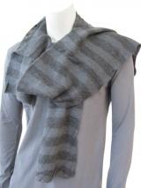 Nicolas & Mark Large strips scarf