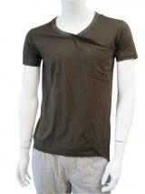 Nicolas & Mark Shortsleeved V-necked T-Shirt