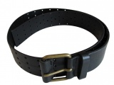 Angelos-Frentzos Perforated leather belt