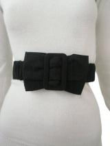 Alberto Incanuti Belt with covered buckle