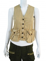 Nicolas & Mark Waistcoat with big pockets
