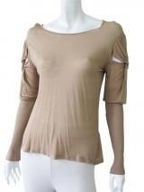 Delphine Wilson T-shirt manica a prosciutto