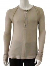 Delphine Wilson Henley T-shirt