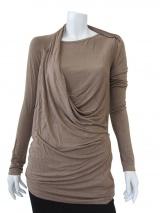 Delphine Wilson T-Shirt M/L Drappeggiata