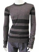 Giulio Bondi Crewneck Striped Sweater