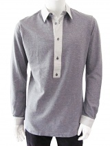 T-Shirt Polo 4 Bottoni