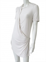 Delphine Wilson Shortsleeved curled t-shirt