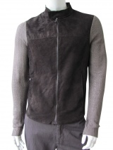 Nicolas & Mark Jacket with leather