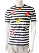 Giulio Bondi T-Shirt con Bandiere