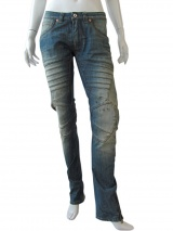 Vic-Torian Jeans with decorative seams