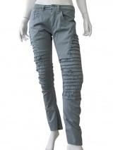 Vic-Torian Jeans con rilievo sfilacciato