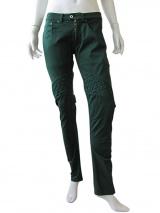Vic-Torian Jeans verde con intreccio