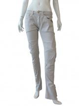 Vic-Torian Jeans con cuciture decorative