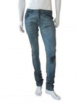 Vic-Torian Washed-out tea jeans