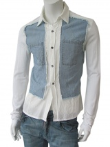 Vic-Torian Shirt with jeans