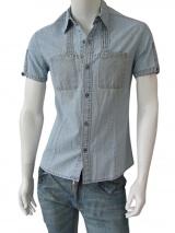 Vic-Torian Camicia di jeans