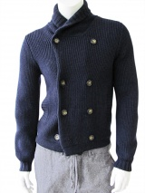 Nicolas & Mark Double-breasted cardigan