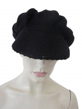 Nicolas & Mark Knit Hat with Visor