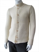 Giulio Bondi Links-links stitched cardigan