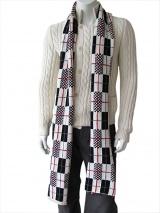 Giulio Bondi Patchwork scarf
