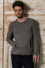 Nicolas & Mark Doubled Crew Neck Sweater
