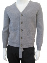 Nicolas & Mark Boiled Wool Cardigan