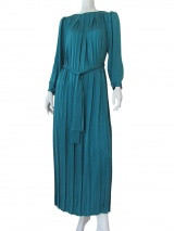 Volod'ja Long Pleated Dress