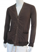 Nicolas & Mark Cardigans and grosgrain