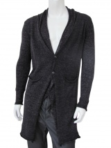 Nicolas & Mark Long Doubled Cardigan