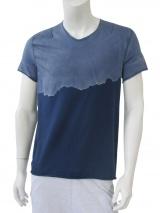Nicolas & Mark T-Shirt m/c taglio vivo e trattamento