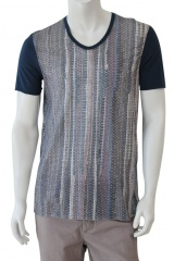 Nicolas & Mark T-Shirt M/M stampa intreccio