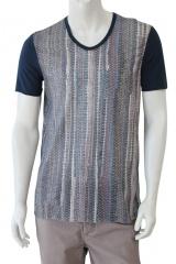 Nicolas & Mark T-Shirt M/M scavo V con stampa
