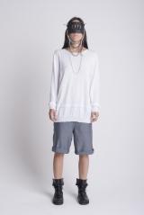 JAMES 0706 Knitwear whit rectangle
