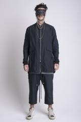 JAMES 0706 Coat whit split