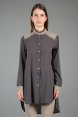Nicolas & Mark Long-sleeve Shirt Tye-Dye