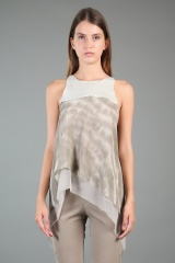 Nicolas & Mark Sleeveless Top Tye-Dye
