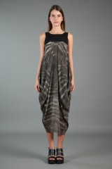 Nicolas & Mark Dress with Tye-Dye Print