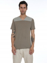 Nicolas & Mark T-shirt collo a V