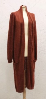 Marc Point Cardigan lungo